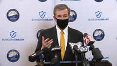 Cover for NC Gov. Cooper, state health officials reviewing CDC's updated mask guidance