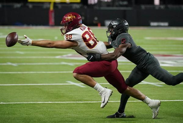 Picture for Purdy throws for 3 TDs, No. 14 Iowa State routs UNLV 48-3