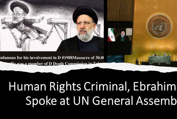 Picture for Iran: Conferences in the U.S and EU Demand Raisi's Prosecution