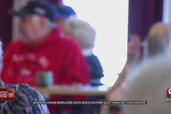 Picture for Shawnee Nursing Home Employee Says She's Willing To Quit Over Vaccine Mandate For Long-Term Care Workers
