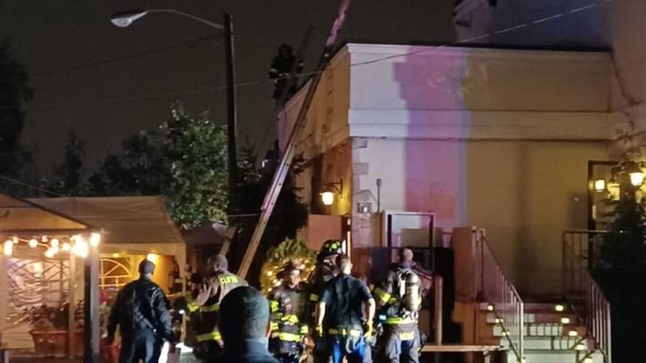 Cover for Firefighters Extinguish Clifton Restaurant Fire