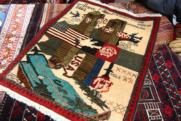 Picture for The real story behind Afghanistan's war rugs