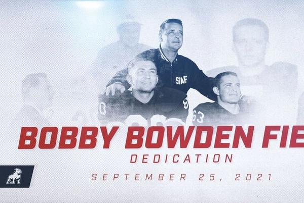 Picture for Samford University to name field in honor of Bobby Bowden