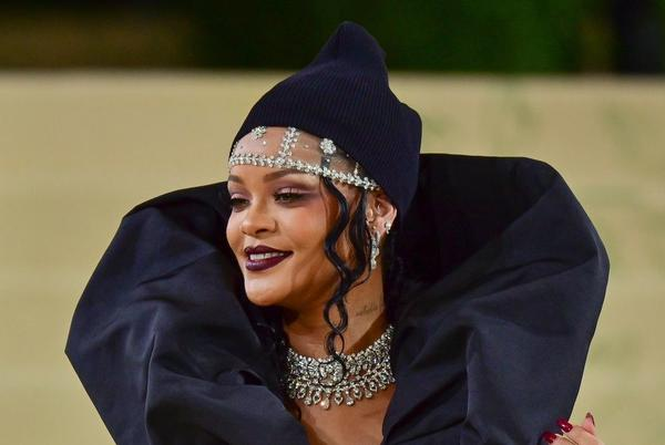 Picture for Rihanna Steps Out in an All-Leather Fit and a Black Fur Bucket Hat in NYC