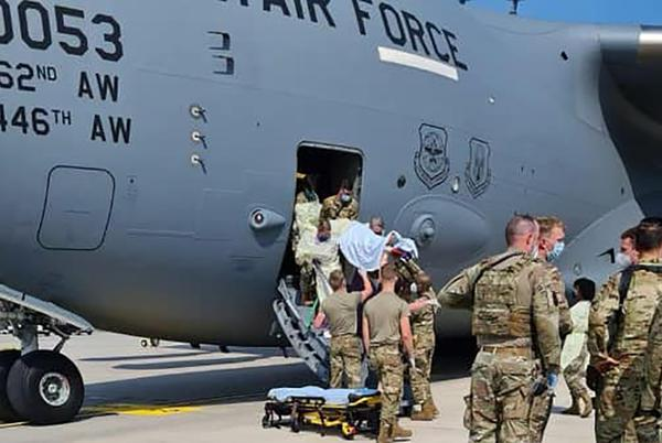 Picture for US airmen help pregnant Afghan mother deliver baby aboard Air Force C-17 evacuation flight