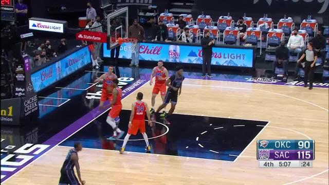 Picture for Sacramento Kings   Delon Wright (21 points) Highlights vs. Oklahoma City Thunder