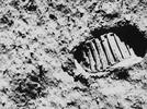 Picture for Community Corners 06/08/21: Neil Armstrong footprints West Lafayette, IN