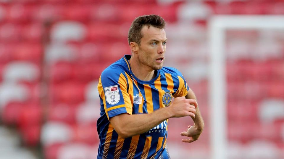 Picture for Shaun Whalley secures point for Shrewsbury at Wigan