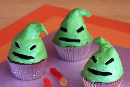 Picture for Oogie Boogie Halloween Cupcakes!