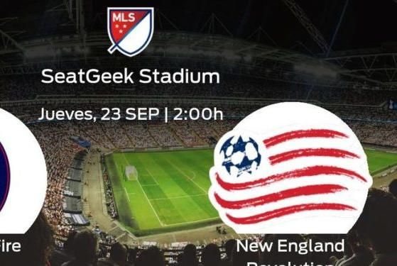 Picture for the New England Revolution defends its lead against the Chicago Fire