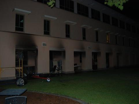 Homeless Man Charged With Arson After Fire Damages O Donnell Hall