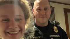 Cover for Skowhegan Police Officer Goes Above & Beyond To Help Young Mom