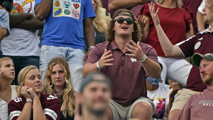 Cover for SEC issues statement following controversial punt return in Mississippi State-Memphis game