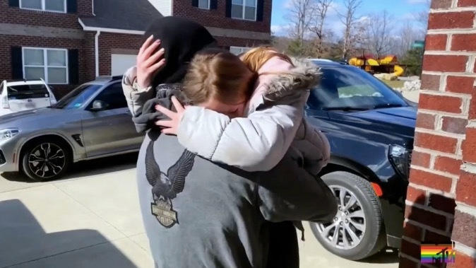 Picture for Teen Mom fans 'crying' after Leah's daughter Addie breaks down in tears during big surprise from dad Jeremy