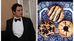 Cover for Clothier-Gourmand Zac Posen Talks 'Bucks County Blueberry Pie' to Esquire Mag, And Includes Recipe