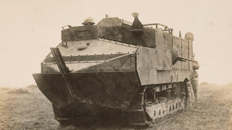 Picture for Meet the Schneider CA1: The First French Tank Ever Built