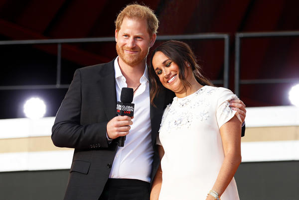Picture for Meghan Markle and Prince Harry Promote Vaccine Equity at Global Citizen Live: 'A Basic Human Right'