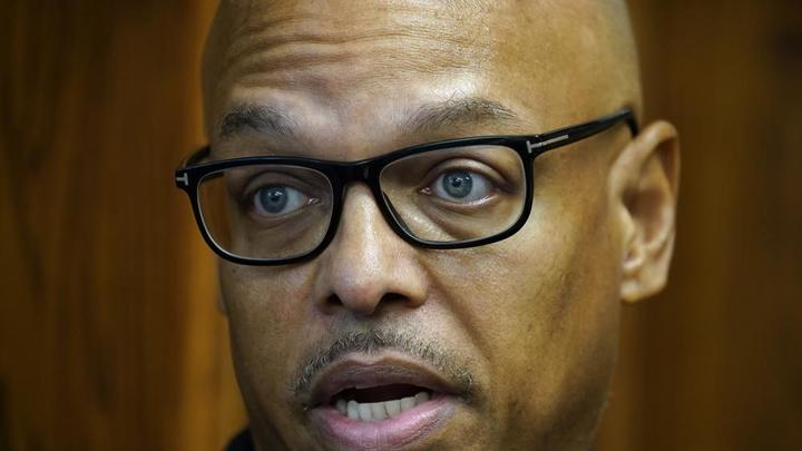Cover for Black Iowa police chief faces backlash after bringing change
