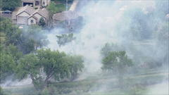 Cover for Crews Fight Fire Burning Near Homes In Arvada