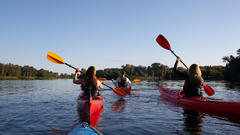 Cover for Canoe, Kayak or Paddleboard at This Northern Michigan Paddle Festival
