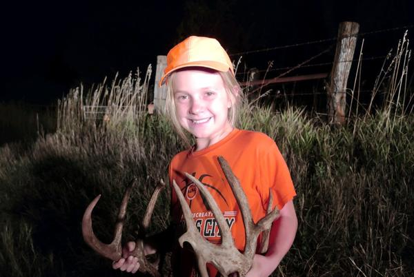 Picture for This 10-Year-Old Made a 200-Yard Shot on a 200-Inch Deer for Her First Kansas Buck