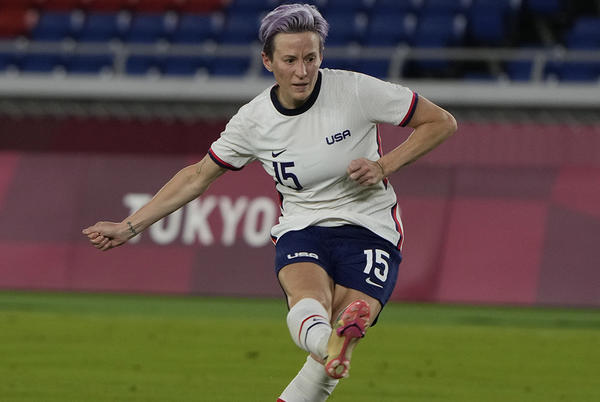 Picture for Megan Rapinoe on US women's soccer's Olympics loss to Canada: 'It sucks'
