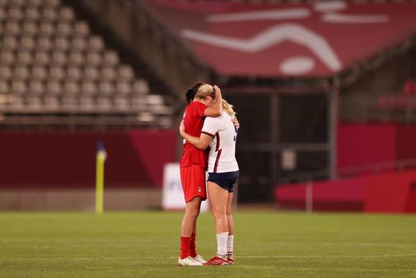 Picture for U.S. Women's Soccer Loses To Canada, 1-0, In Tokyo Olympics Semifinal
