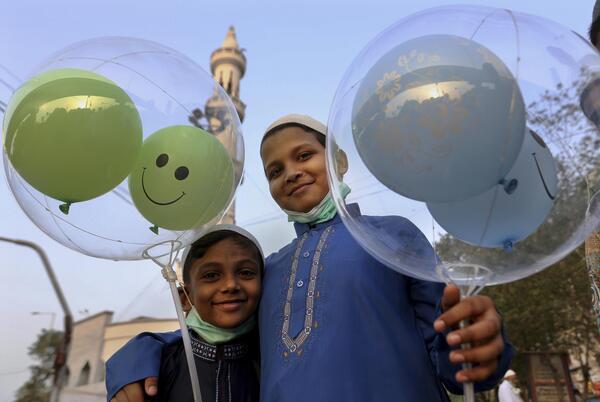 Picture for Virus, Mideast turmoil stifle Eid al-Fitr celebrations