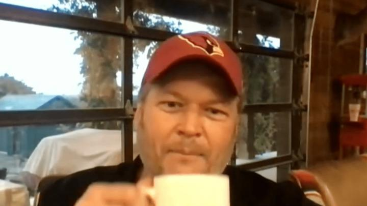 """Cover for Blake Shelton Weighs In On Undefeated Arizona Cardinals Facing The Packers: """"I'm Gonna Start Drinking Right Now"""""""