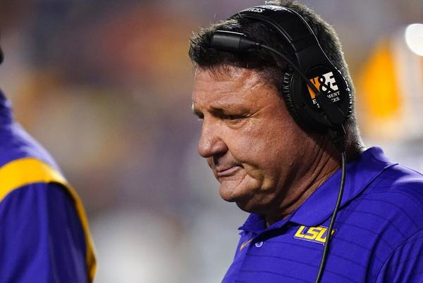 Picture for Ed Orgeron done as LSU coach after 2021 season