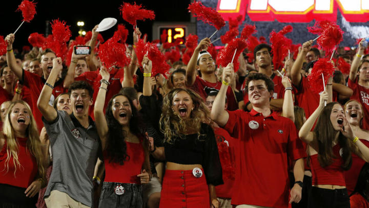 Cover for Georgia football fans not satisfied with win over Gamecocks may have a point
