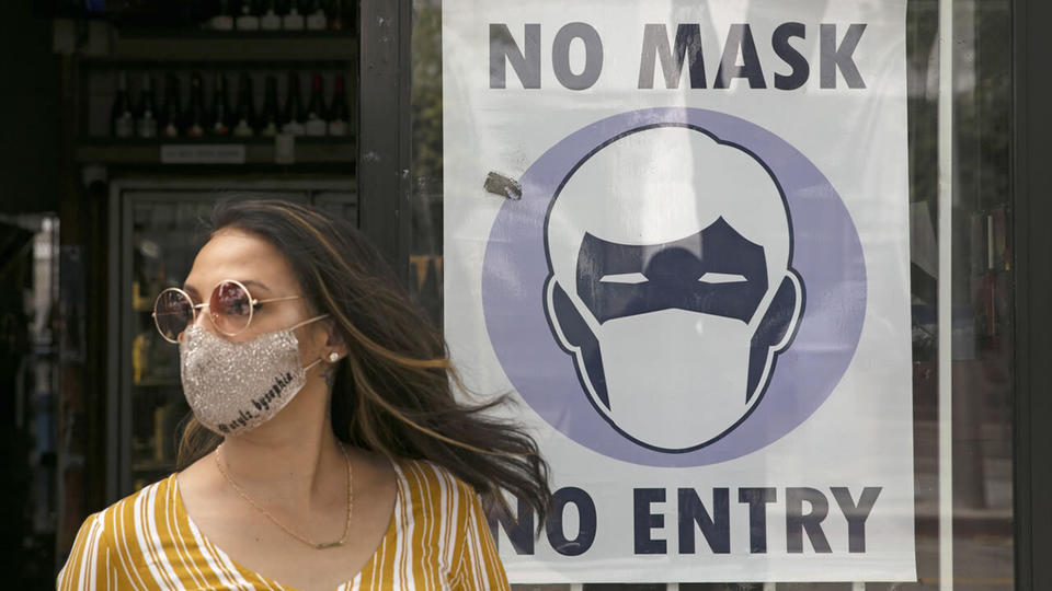 Picture for WATCH LIVE: Indoor mask mandate to take effect at midnight in 7 Bay Area counties