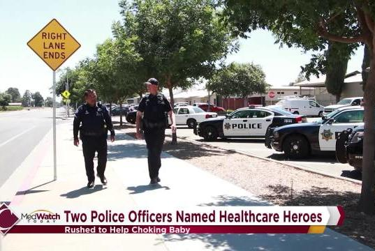 Picture for MedWatch Today: Healthcare Heroes, Local Law Enforcement Officers