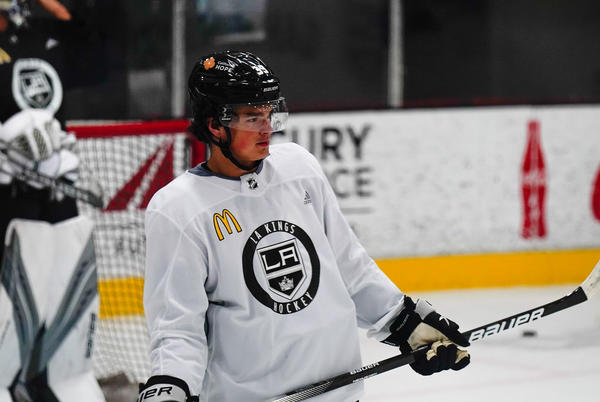 Picture for LA Kings Dev Camp: Day 1 – Notes and Quotes, Turcotte Not Skating