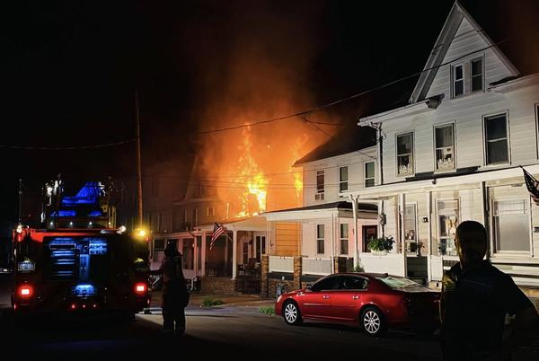 Picture for Mount Carmel home heavily damaged in Sunday morning fire