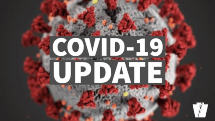 Cover for PETTIS COUNTY COVID-19 TASK FORCE BRIEF UPDATE