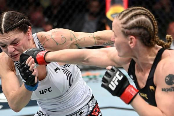 Picture for Valentina Shevchenko finishes Lauren Murphy for sixth straight title defense