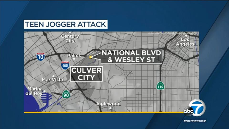 Picture for Girl, 17, attacked while jogging in Culver City