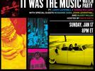 Picture for Livestream Performance/Viewing Party To Celebrate the Ten-Part Documentary IT WAS THE MUSIC With Larry Campbell & Teresa Williams, Rosanne Cash, John Leventhal, and Buddy Miller