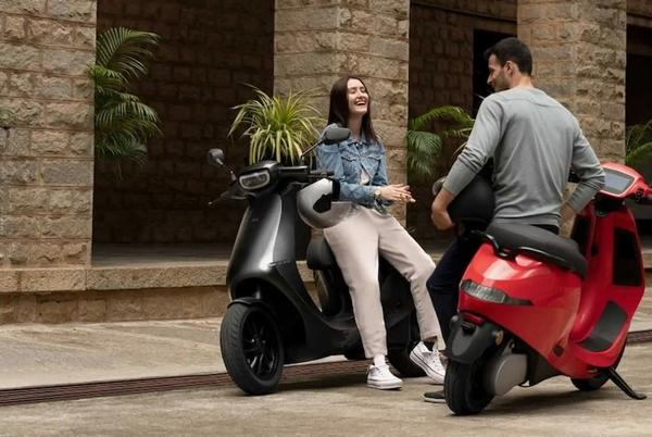 Picture for Ola S1 Scooters Are Being Sold At A Blistering Pace