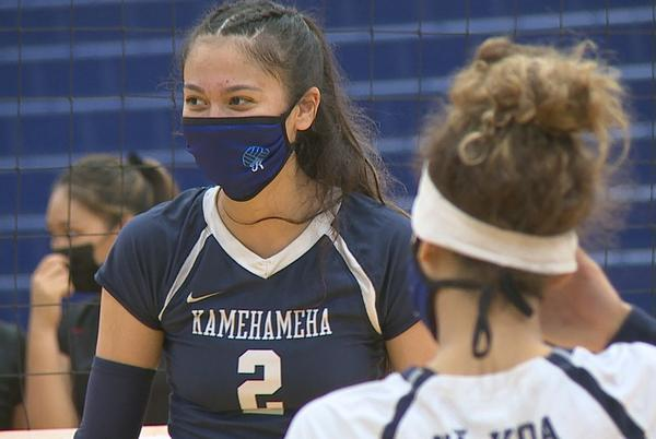 Picture for Following bronze medal experience with Team USA at FIVB World Championships in Mexico, Kamehameha's Devin Kahahawai 'glad' to be home battling in the ILH