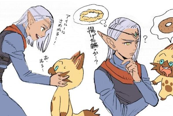 Picture for Monster Hunter Stories 2 Alwin, Kyle, Reverto, and Cheval Concept Art Shared