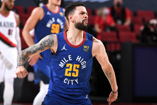 Picture for Austin Rivers became a Nuggets playoff legend with one epic quarter