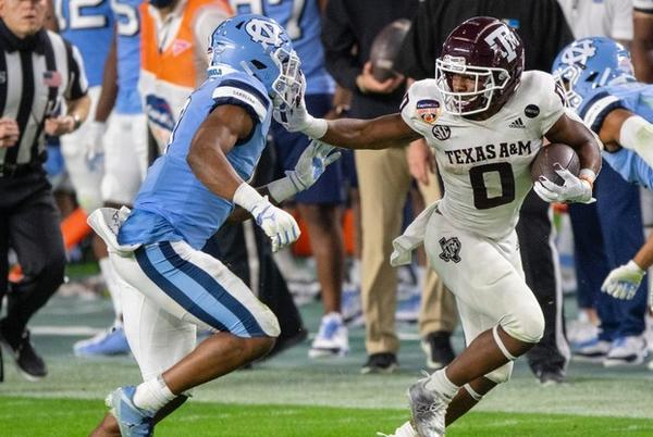Picture for Texas A&M WR out for game with concussion