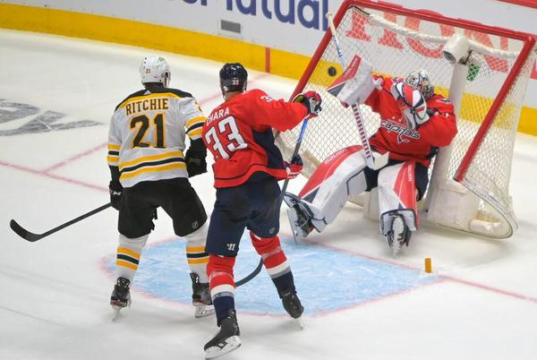 Picture for Before the first playoff puck dropped, the two missing Capitals had already dropped the ball