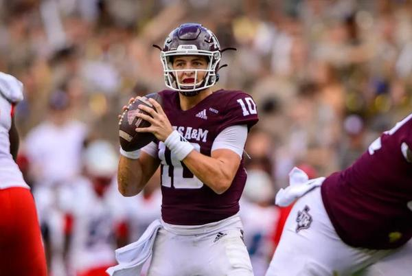 Picture for How Much Did Texas A&M's Zach Calzada Prove His Worth Against New Mexico?