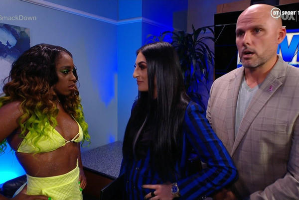 Picture for Sonya Deville Says She's Wrestling On 10/15 WWE SmackDown Against Naomi