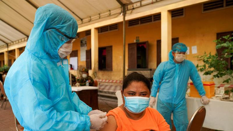 Picture for Cambodia to mix vaccines as booster shots to fight COVID
