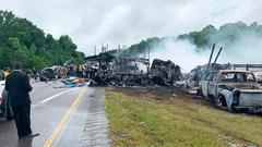 Cover for Witness describes aftermath of horrific crash that left 9 children and 1 adult dead in Alabama