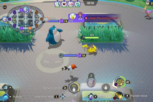 Picture for Pokémon Unite is an intense MOBA with a friendly skin